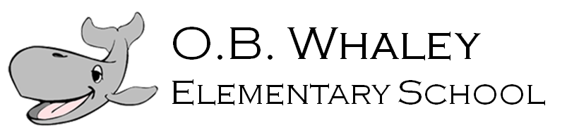 O.B. Whaley Elementary School Logo - go home page
